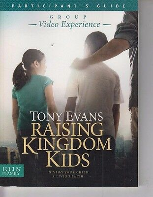 Set of 10 NEW Tony Evans Raising Kingdom Kids Group Video Experience Guide