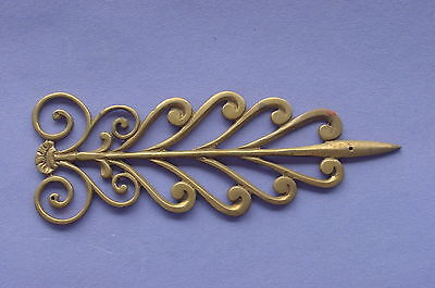 High Quality Italian Brass Furniture Decorative Embellishment Fancy Ornate NOS