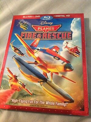 Planes: Fire & Rescue (Blu-ray/DVD/Digital HD, 2014, 2-Disc Set) NEW AND SEALED!