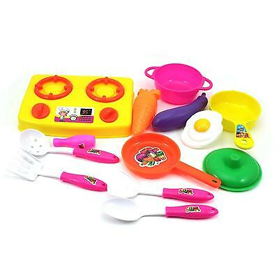 13pcs/set Baby Kids Child Kitchen Toy Pretend Role Playing Toy Educational Toy