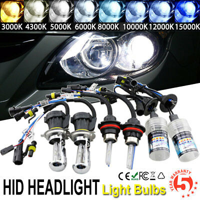 35W/55W HID Conversion XENON Bulbs H1 H3 H7 H8 H9 H10 H11 H/L H4 H13 All Colors