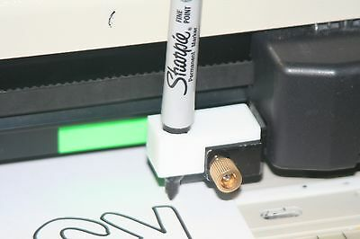 Sharpie Marker Pen Adapter For Most Makes Of Vinyl Cutters That Use Roland Blade