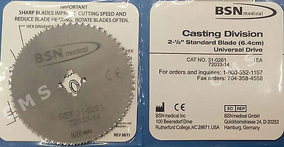 "BSN M-PACT 2.5"" Cast Cutter Saw Blade Stainless Steel Hex Or Pin Drive USA"