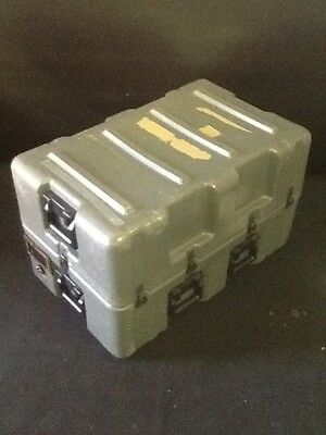 HARDIGG 33x21x20 Wheeled Medical Supply Chest #6 Pressure Release Hard Case Army