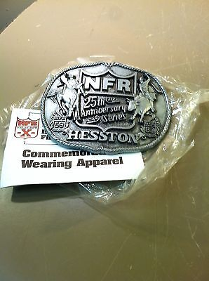 Vintage Hesston 1983 Rodeo NFR National Finals Rodeo Belt Buckle Limited 1st Ed