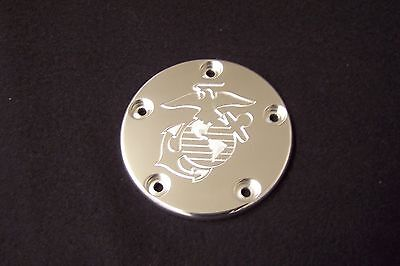 Custom points//Cam-cover Fits Harley Davidson Ball Grove 5 hole