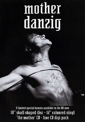 DANZIG Mother PHOTO Print POSTER Band Glenn Danzig How The Gods Kill Misfits 003