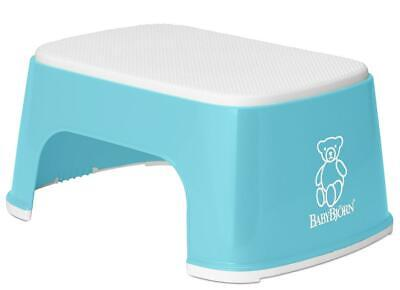 Baby Bjorn Step Stool for Toilet Training (Turquoise) (BabyBjorn) Free Shipping!