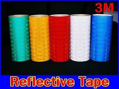 "12""x48""/3M/TM/REFLECTIVE Tape/Intensity Grade/Vinyl/Adhesive/Roll/Long/Sign/safe"