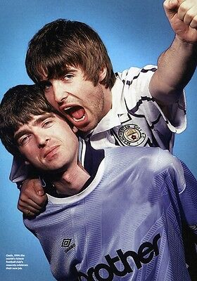 OASIS Manchester City Football Club PHOTO Print POSTER Liam Noel Gallagher 022