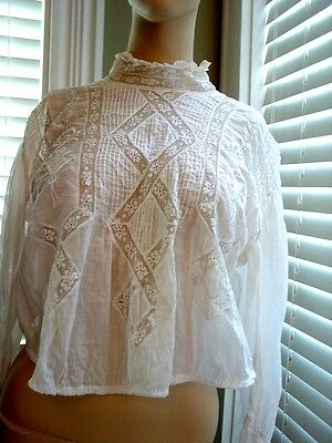 Vintage Batiste and Lace Blouse 20's era True Vintage