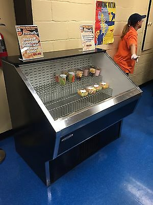 """Federal RSS4SC-2B - 48"""" Refrigerated Open Grab & Go Display - Refurbished"""