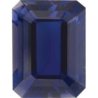 Natural Fine Purple Blue Iolite - Emerald Cut - Zimbabwe - Top Tanzanite Color