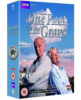 ONE FOOT IN THE GRAVE 1-6 (1990-2000) - COMPLETE TV Season Series - NEW DVD UK