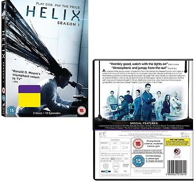 HELIX 1 (2014): SciFi SyFy TV Season Series by Ronald D. Moore NEW R2 DVD not US
