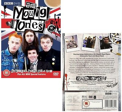 YOUNG ONES 1 + 2 (1982-1984) COMPLETE TV Series Seasons + Features R2 DVD not US