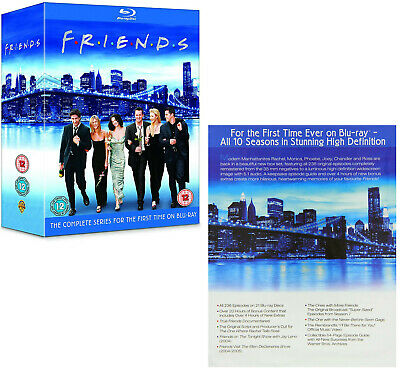 FRIENDS 1-10 (1994-2004) COMPLETE COMEDY TV Seasons Series - NEW Rg Free BLU-RAY