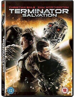 TERMINATOR 4 (2009): SALVATION - Christian Bale Sam Worthington - R2 DVD not US