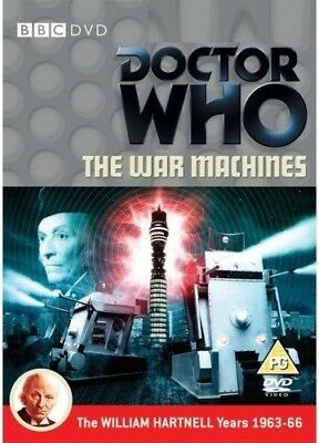 DR WHO 027 (1966) - WAR MACHINES - Doctor TV William Hartnell - NEW R2 DVD