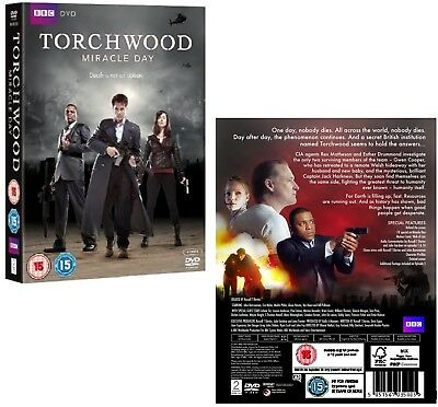 TORCHWOOD 4 (2011) Dr Who TV Series Season - MIRACLE DAY - NEW R2 DVD not US
