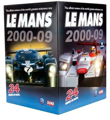LE MANS  2000-2009 - 24 Hour - 10 Disc Review Sportscar Collection - Rg Free DVD