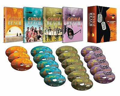 CHINA BEACH 1-4 (1988-1991) Original Music COMPLETE TV Season Series NEW Rg2 DVD