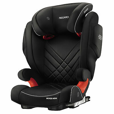 Recaro Monza Nova 2 Group 2/3 Seatfix Isofix Child Car Booster Seat Black