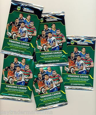 2013 NRL ESP Traders packets of cards, 12 cards per sealed pack $3.00 RRP $3.99