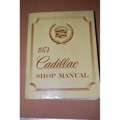 Cadillac Service Shop Manual 1974 Manuale Officina Inglese Ottimo