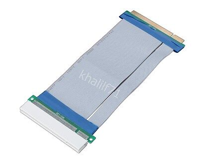 32Bit Flexible PCI to PCI Riser Card Extender Extension Ribbon Cable Adaptor New