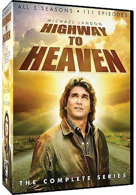 HIGHWAY TO HEAVEN 1-5 (1984-1989): COMPLETE Angel TV Season Series - NEW R1 DVD
