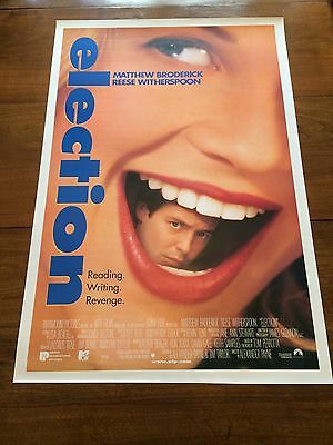 Original 1999 Election US one-sheet film poster (Reese Witherspoon)