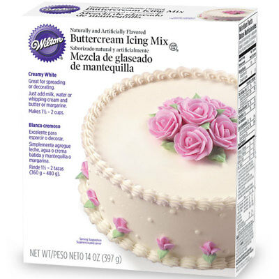 Wilton Creamy White Decorating Buttercream Icing Mix