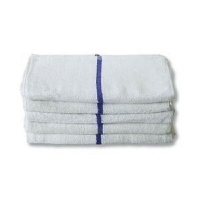 """10LBS STRIPE BAR TERRY RAGS RESTAURANT CLEANING TOWELS 16""""x19"""""""