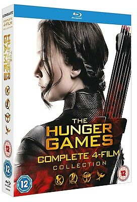 The Hunger Games 1-4 (2012-2015) - Blu-Ray Complete + Catching Fire + Mockingjay