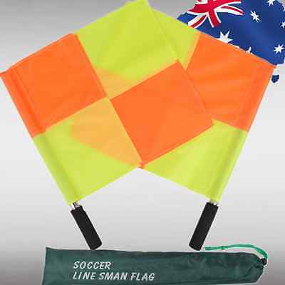 2x 4x 10x 20x Sports Official Referee Soccer Football Linesman Flag OFLAG65