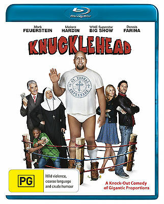 F30 BRAND NEW SEALED Knucklehead (Blu Ray, 2010) Australia Stock