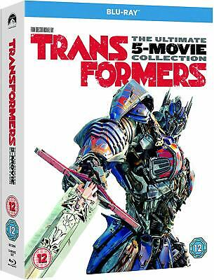 TRANSFORMERS 1-5 (2007-2017) 5x Movie Set - Inc THE LAST KNIGHT  NEW RgB BLU-RAY