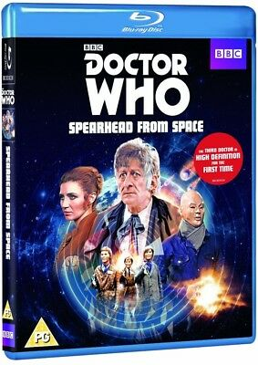 DR WHO 051 (1970) SPEARHEAD FROM SPACE - TV Doctor Jon Pertwee  BLU-RAY Reg Free