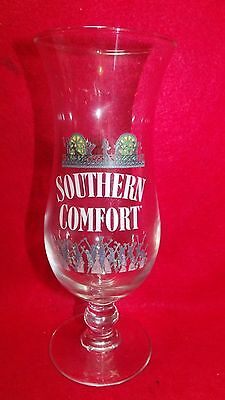 """Southern Comfort (New Orleans Design) Hurricane Glass 8 """""""