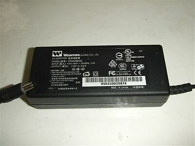 Genuine Power Supply Wearnes WDS0360G2 Adapter PSU 12V 3A AC/DC For LCD Monitor
