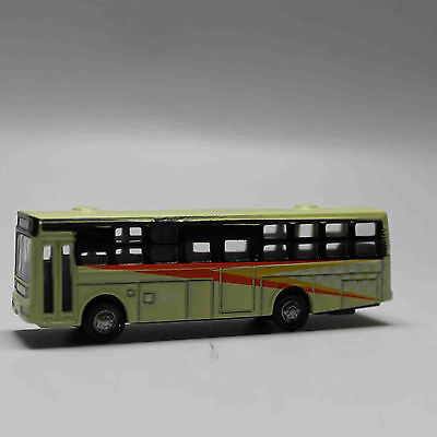 N Scale Railway 1:160 Diecast Mini Buses Model - Cream
