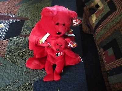 Retired Rare Osito Ty Beanie Baby 1999 No tush tag stamp with Buddy! Make Offer