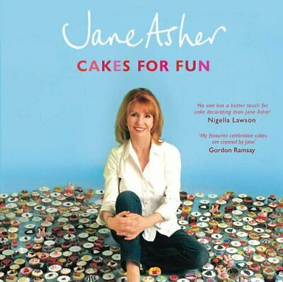 Cakes for Fun by Asher, Jane Paperback Book The Cheap Fast Free Post