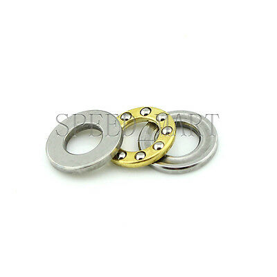 F5-10M Axial Thrust Ball Bearings 5mm x 10mm x 4mm