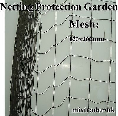 Cargo Cover Net Netting Heavy Duty Strong 100x100mm Mesh Container Protection