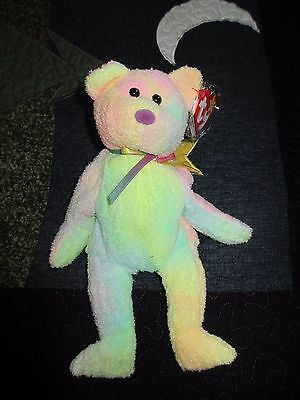 Original Ty Beanie Baby Babies Groovy Bear Retired Excellent!