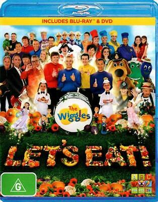 Wiggles, The: Let's Eat - Blu-Ray Region B Free Shipping!