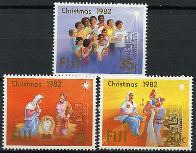 Fiji 1982 SG#647-9 Christmas MNH Set #A87131