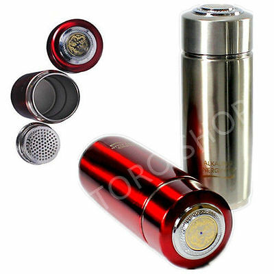 Alkaline Healthy Water pH Purifier Ionizer Energy Filter Flask CE & RoHS APPROVE